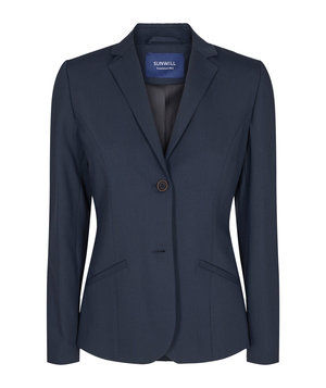 Sunwill Regular fit dame blazer, Blue