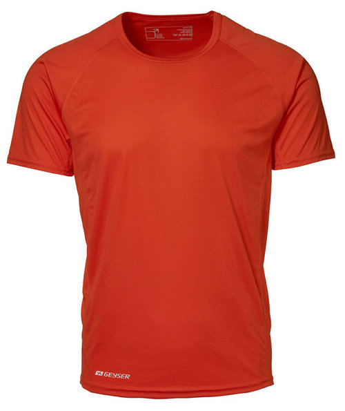 GEYSER Tränings T-shirt Man Active, Orange