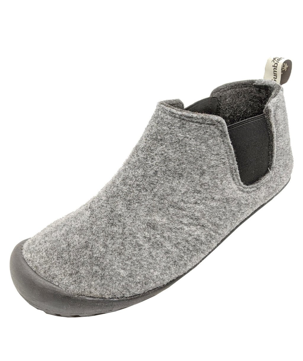 Gumbies Brumby Slipper Boot hjemmesko, Grey/Charcoal