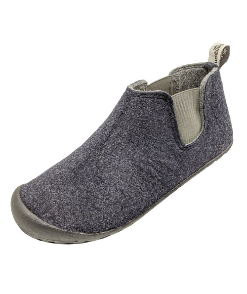 Gumbies Brumby Slipper Boot hjemmesko, Navy/Grey