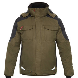 FE Engel Galaxy winter jacket, Forest Green/Black