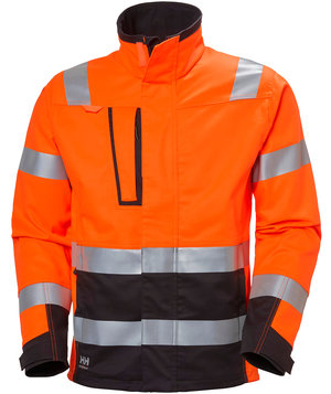 Helly Hansen WW Alna 2.0 Arbeitsjacke, Hi-Vis Orange/Charcoal