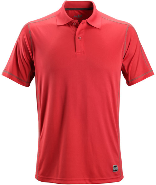 Snickers A.V.S. Poloshirt, Rot