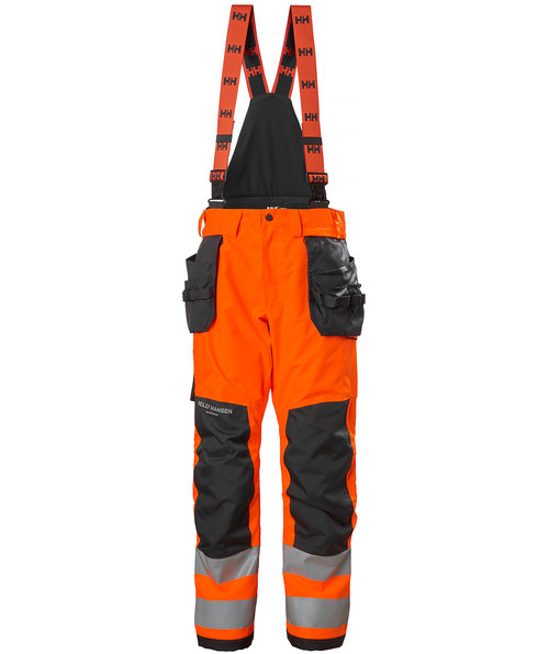Helly Hansen WW Alna 2.0 vinterbukser, Hi-Vis Orange/Charcoal