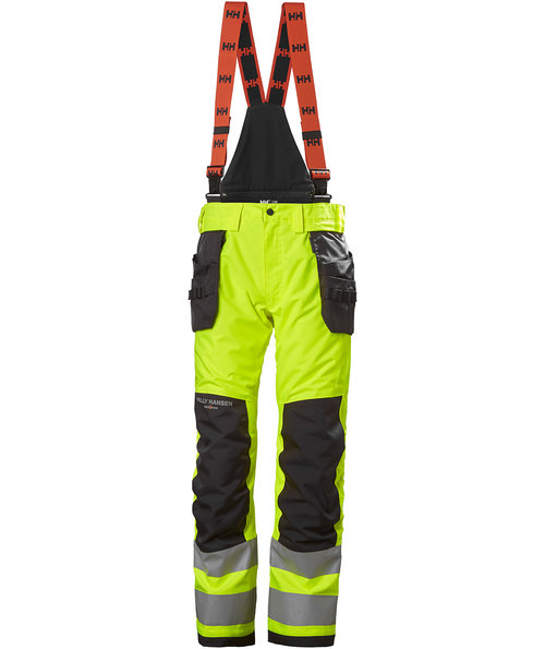 Helly Hansen WW Alna 2.0 winter trousers, Hi-Vis Yellow/Charcoal