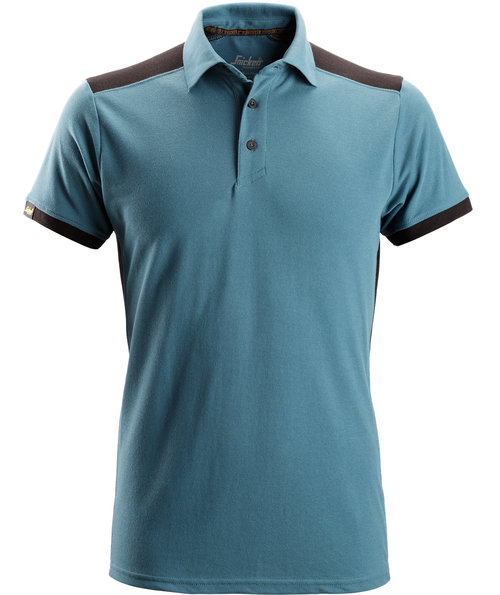 Snickers AllroundWork polo T-shirt, Petrol/Sort