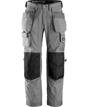 Snickers craftsmen's trousers, Grey/Black