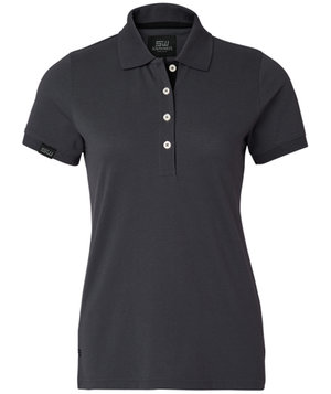 South West Wera women's polo shirt, Dark Grey
