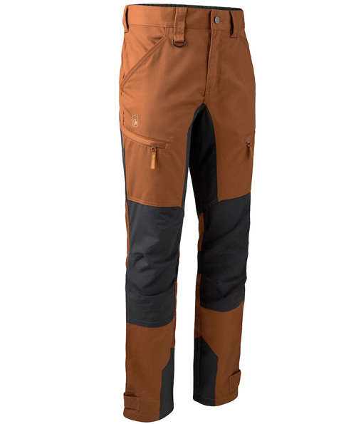 Deerhunter Rogaland stretch bukser, kontrast, Burnt Orange