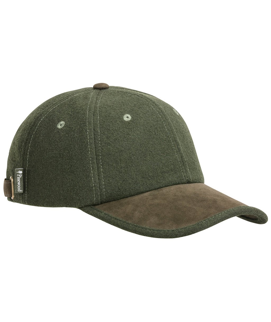 Pinewood Edmonton Exclusive cap, Mossgreen/Suede Brown