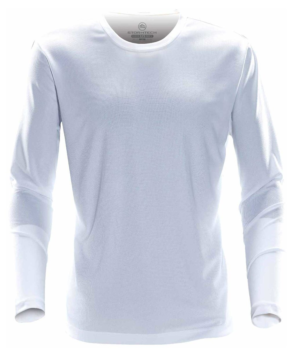 Stormtech Eclipse long-sleeved T-shirt, White