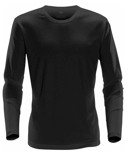 Stormtech Eclipse long-sleeved T-shirt, Black