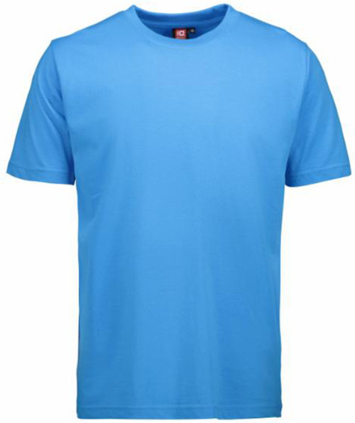 ID Identity Game T-shirt, 100% bomull, Cyan