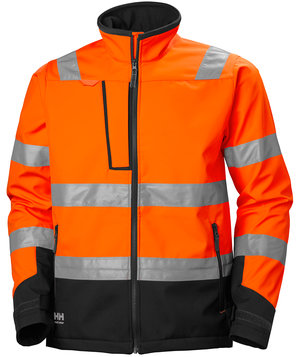 Helly Hansen WW Alna 2.0 Softshelljacke, Hi-Vis Orange/Charcoal