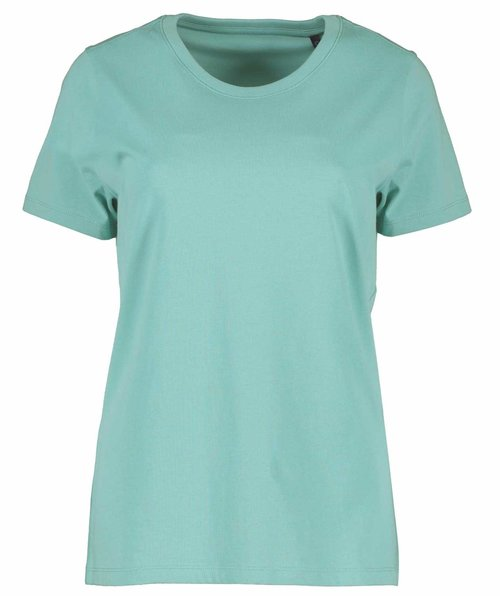 ID organic women's T-shirt, Dusty Aqua