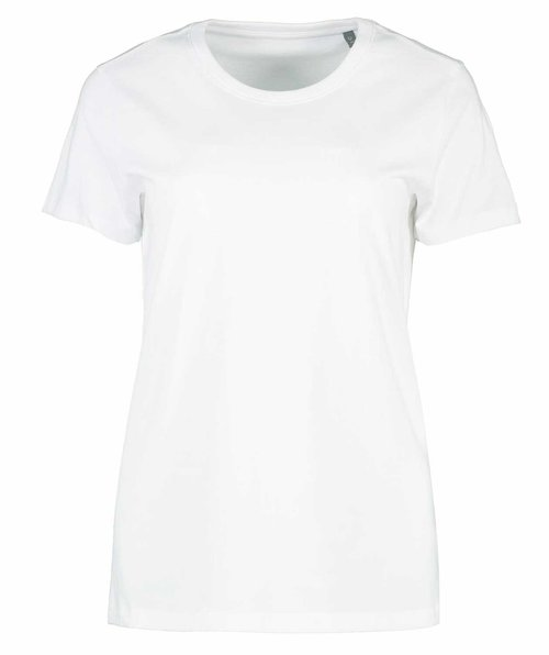 ID organic women's T-shirt, White