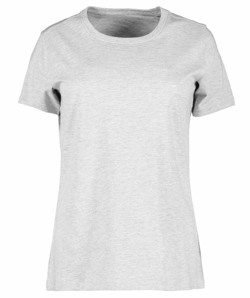 ID organic women's T-shirt, Light Grey Melange