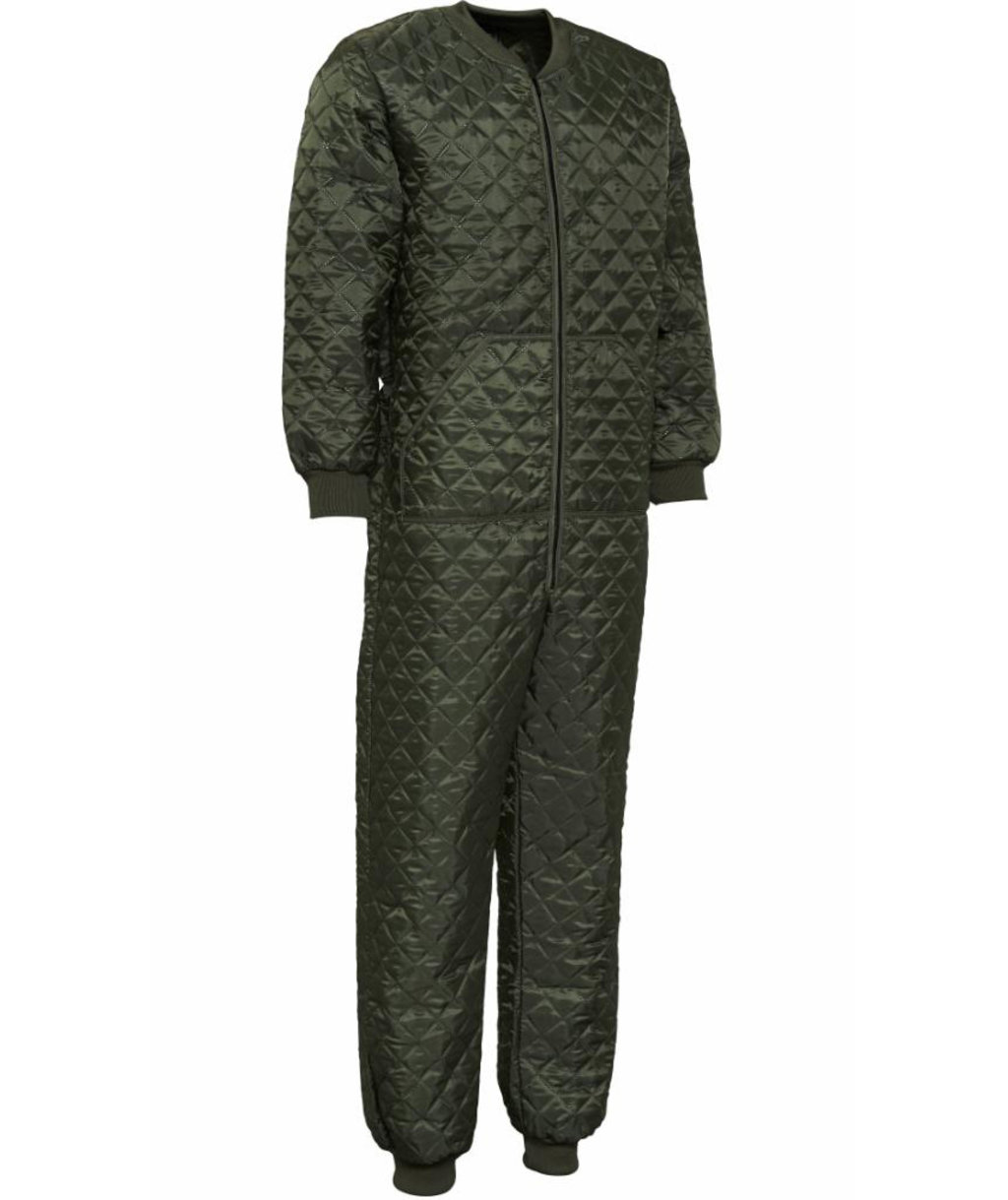 Elka thermal coverall, Olive Green