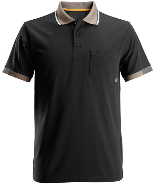 Snickers AllroundWork 37,5® polo shirt, Black