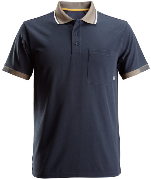 Snickers AllroundWork 37,5® polo shirt, Marine Blue