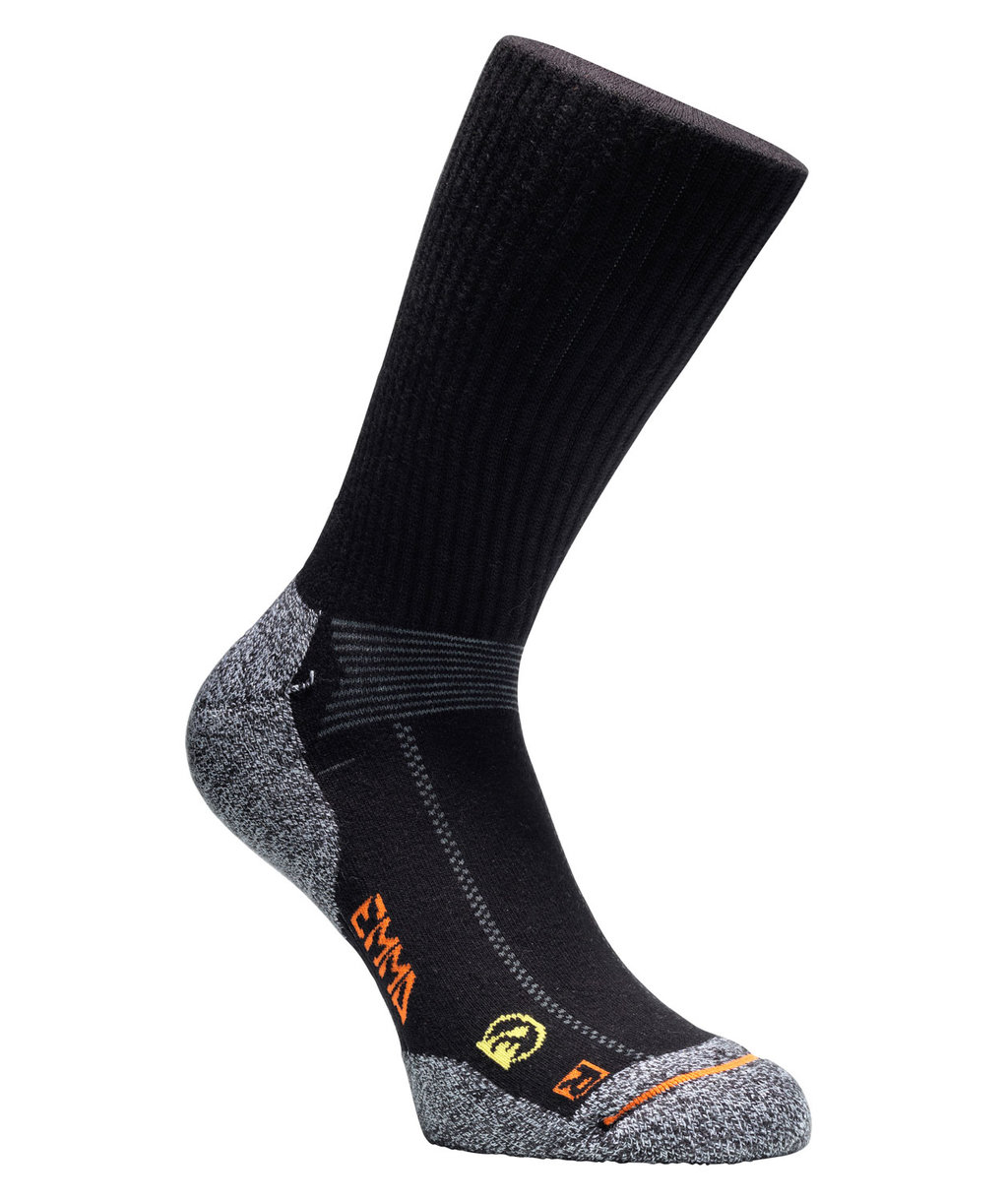Emma Hydro-Dry® work socks, Black