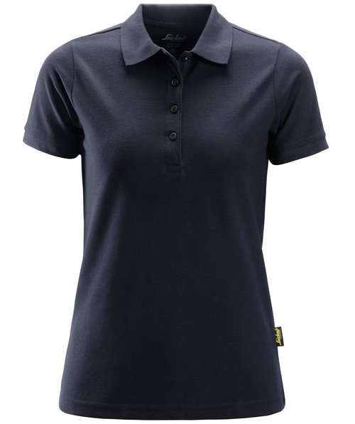Snickers dame polo T-shirt, Marine