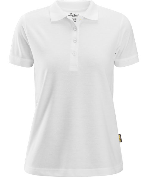 Snickers dame polo T-shirt, Hvid