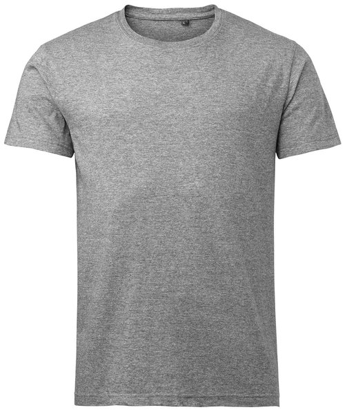 South West Basic unisex T-shirt, Mørk Gråmeleret