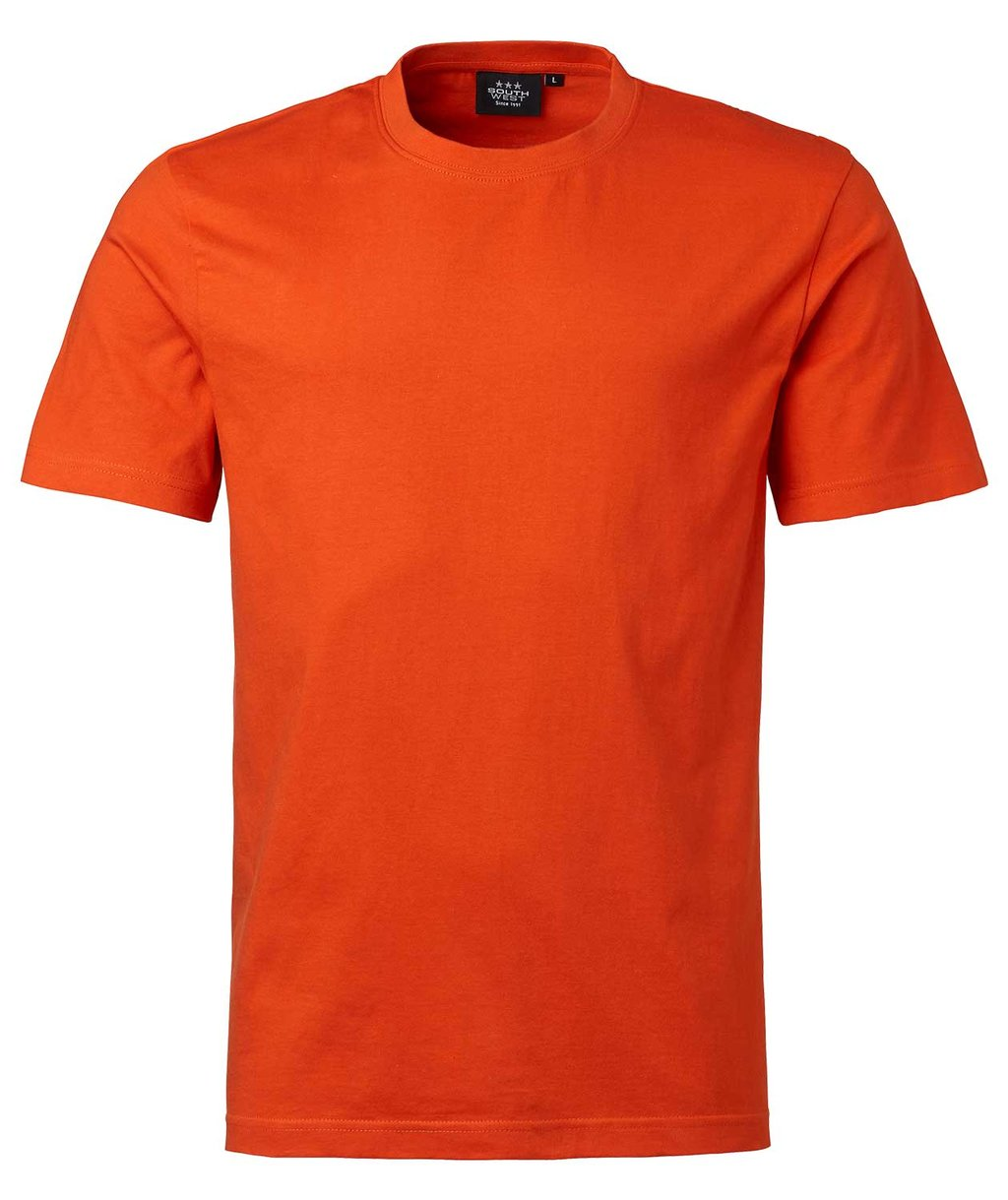 South West Kings ekologisk T-shirt till barn, Spicy Orange