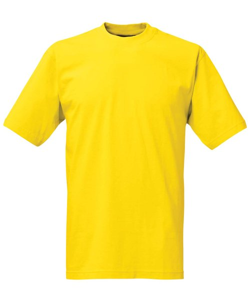 South West Kings økologisk unisex T-shirt, Blazing Yellow
