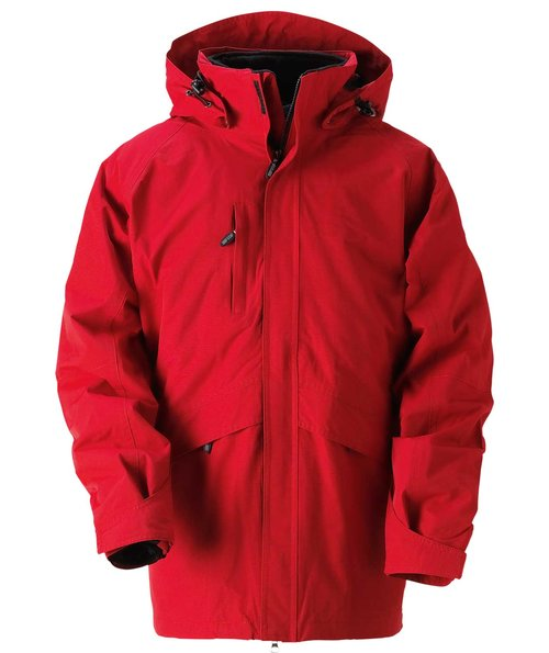 South West Greystone 3-i-1 women's jacket, Red