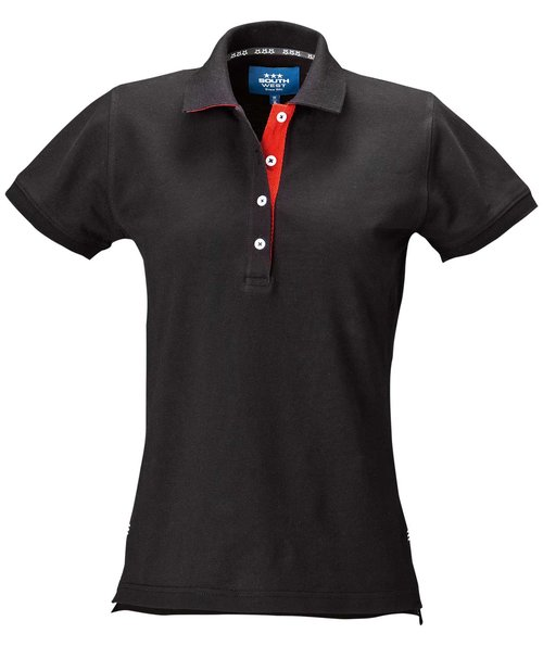 South West Marion dame polo T-shirt, Sort
