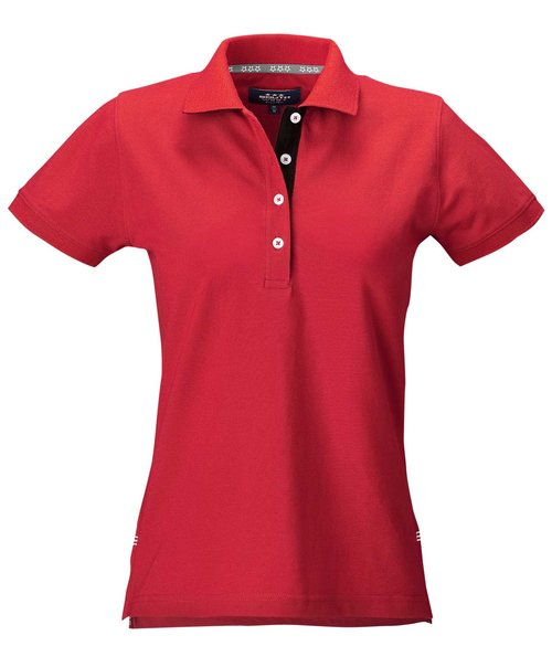 South West Marion dame polo T-shirt, Rød