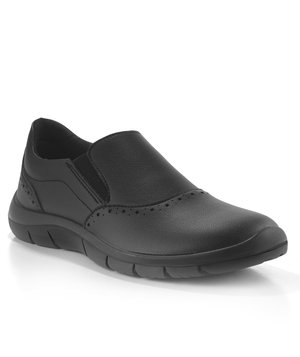 Codeor Zen loafer arbejdssko O1, Sort