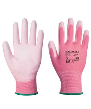 Portwest A120 work gloves, Rosa