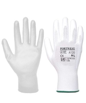 Portwest A120 work gloves, White