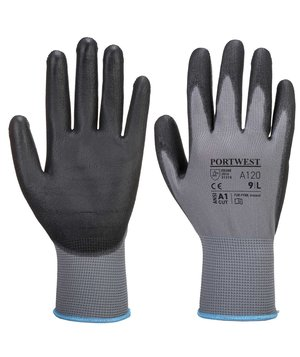 Portwest A120 work gloves, Grey/Black