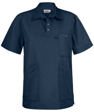 Smila Workwear Alex unisex smock, Ocean Blue