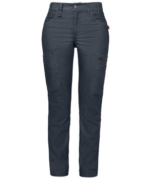 Smila Workwear Fia women's jeans, Blue Melange