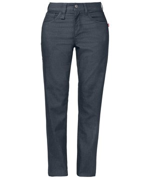 Smila Workwear Fay Slim women's jeans, Blue Melange