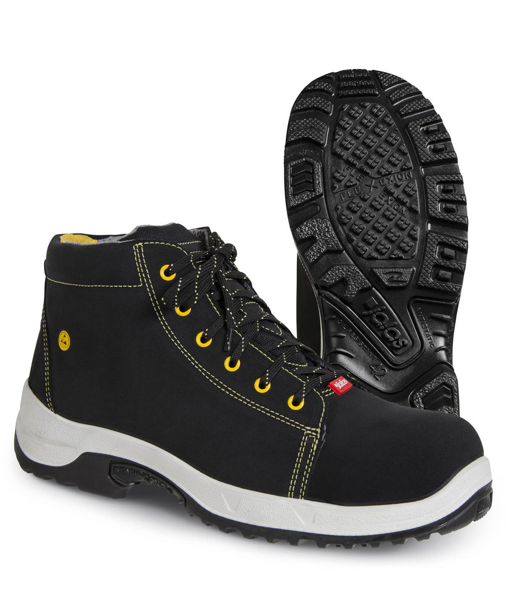 Jalas 3055 Fiftyfive safety boots S3, Black