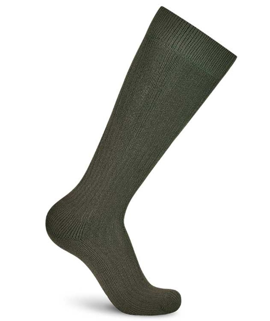 Worik Norway compression socks with merino wool, Army Green