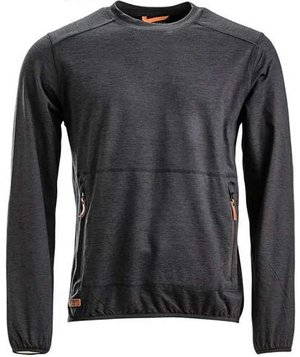 Kramp Active sweatshirt, Koksgrå
