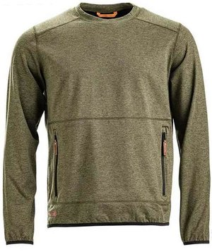 Kramp Active sweatshirt, Olivengrøn
