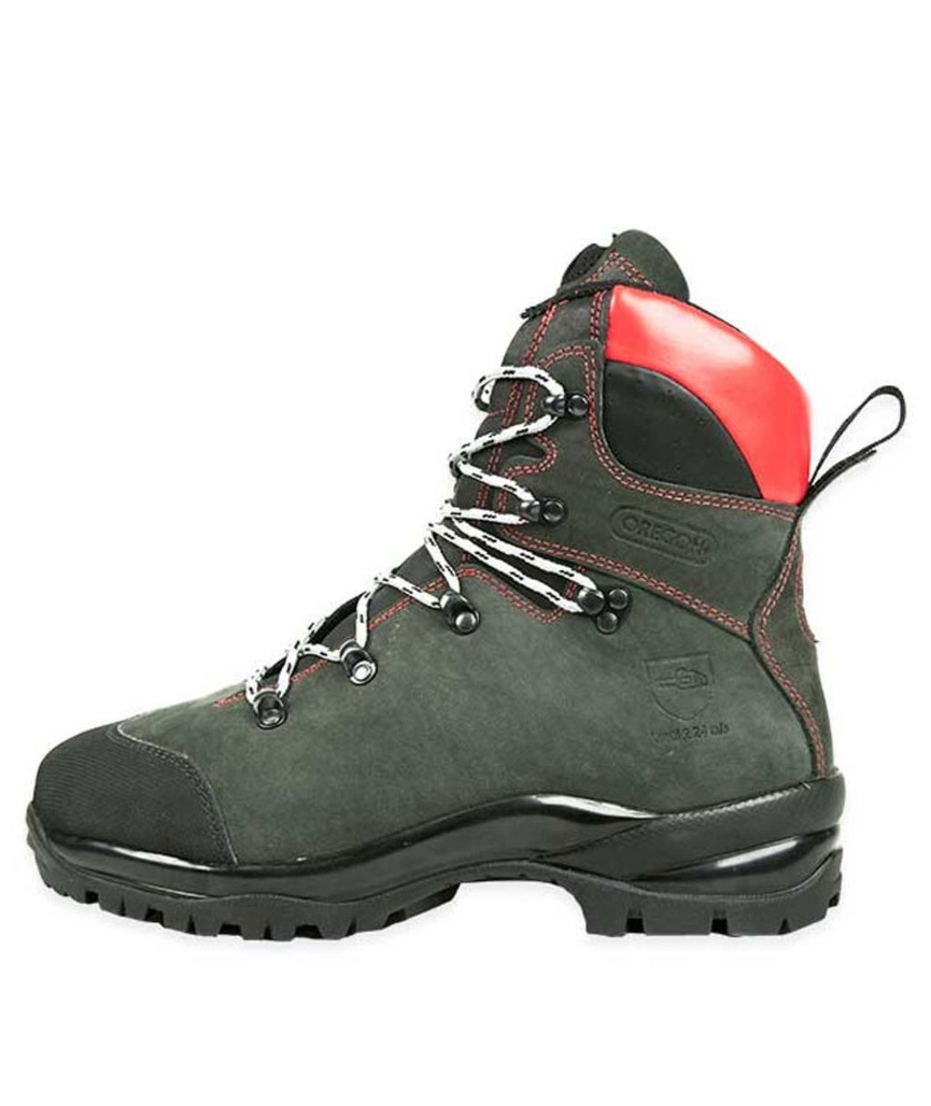 Oregon Fiordland chainsaw boots S3, Green
