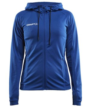 Craft Evolve women's hoodie, Club Cobolt