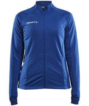 Craft Evolve Full Zip women's sweatshirt, Club Cobolt