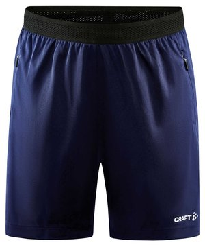Craft Evolve Zip Pocket women's shorts, Navy
