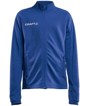 Craft Evolve Full Zip Sweatshirt für Kinder, Club Cobolt