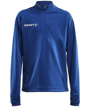 Craft Evolve Halfzip Sweatshirt für Kinder, Club Cobolt